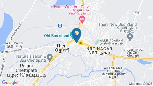 Hotel Le Shiv Executive Suite Map