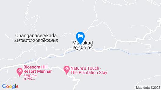 Spice Tree Munnar Map