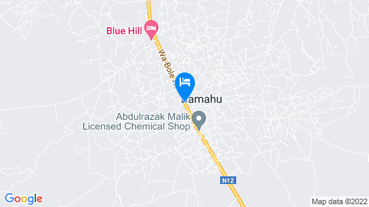 Blue Hill Hotel Map