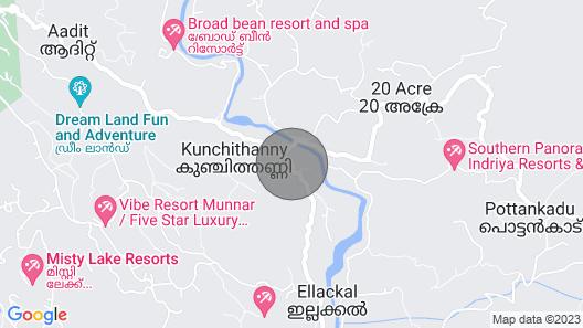 M3 Homes Kunchithanny Munnar Map