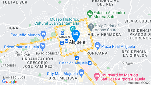 Hotel Santamaria Map