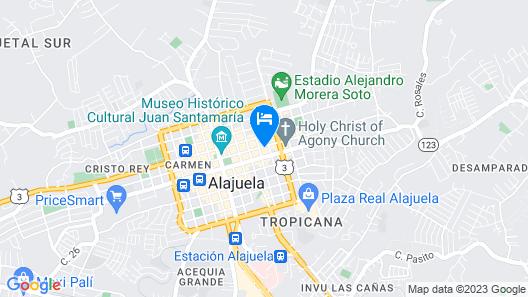 Alice y Juancito Boutique Hotel Map
