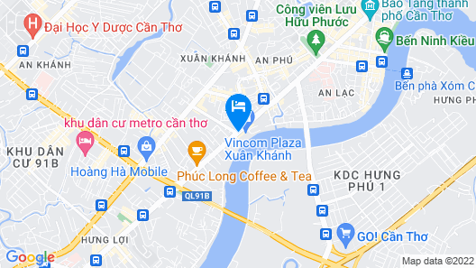 Vinpearl Hotel Can Tho Map