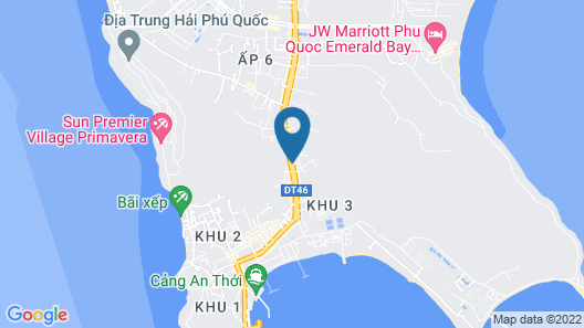 Thanh Cao Guesthouse Map