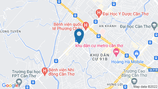 Anh Dao Mekong 2 Hotel Map