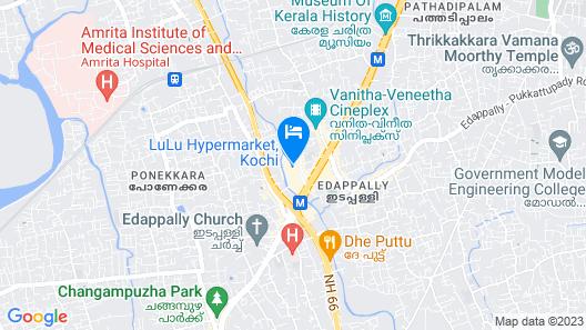 Kochi Marriott Hotel Map