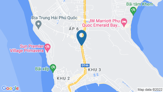 Thanh Vy Hotel Map
