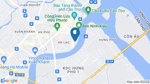 West Hotel Map