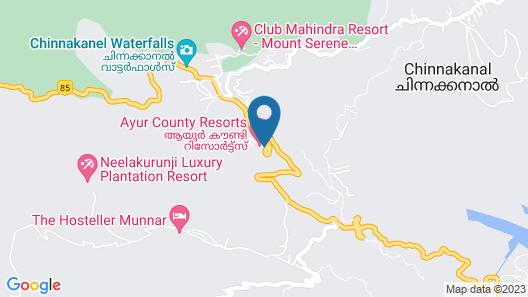 Ayur County Map