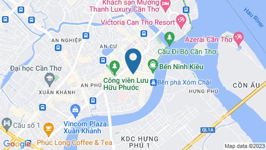 Hau Giang Hotel Map