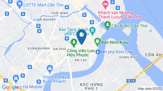 Paradise Host Map