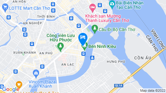 Can Tho My Kim Mekong - Hostel Map