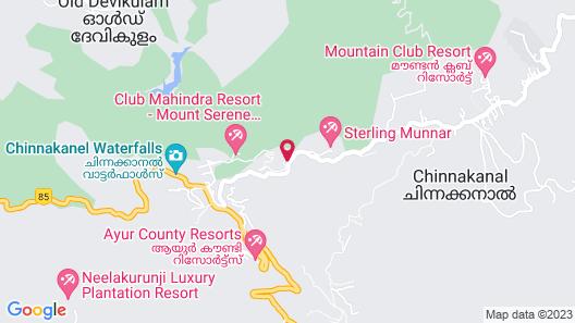 Club Mahindra Munnar Map