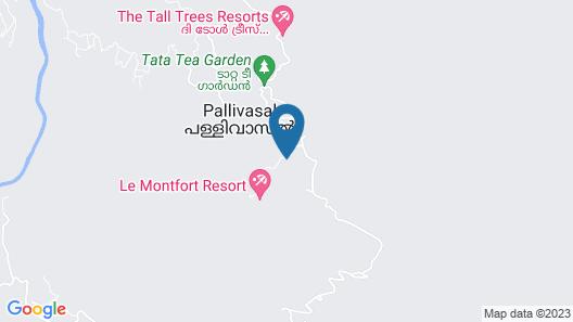 T Cherry Villa Map