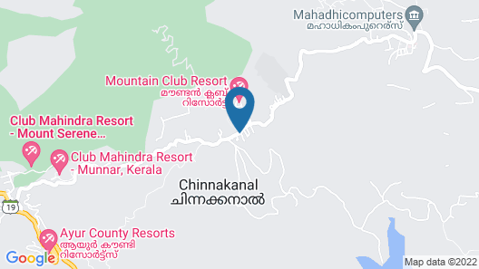 Sterling Munnar Map