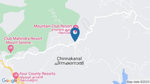 Holiday Heaven Munnar Map