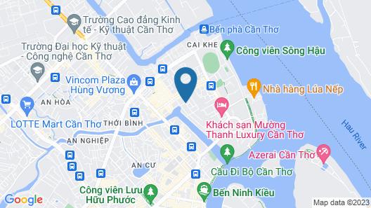 Lan Vy Hotel Map