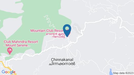Mountain Club - Munnar Map