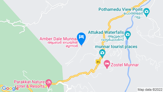 Amber Dale Luxury Hotel & Spa Map