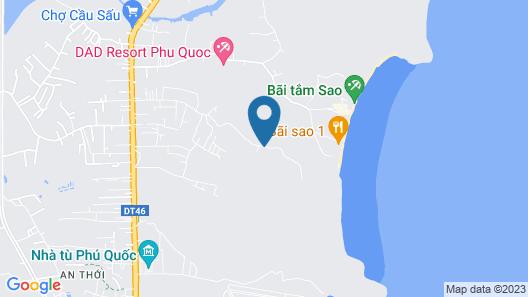 Green Garden Bungalow Phu Quoc Map