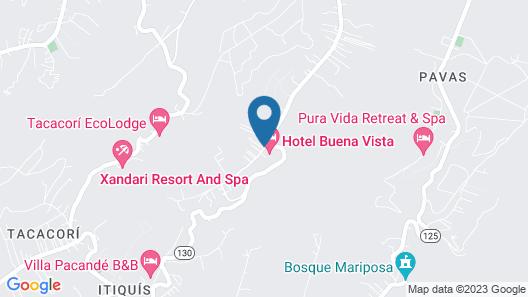 Buena Vista Chic Hotel Map