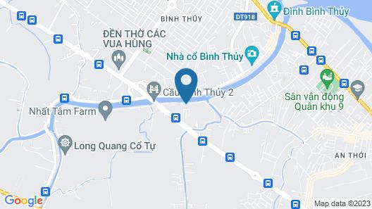 Can Tho Riverside Hostel Map
