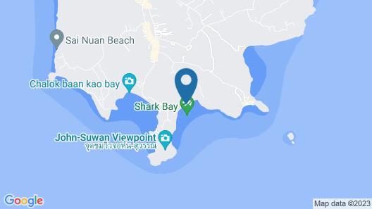 Beach Club by Haad Tien Map