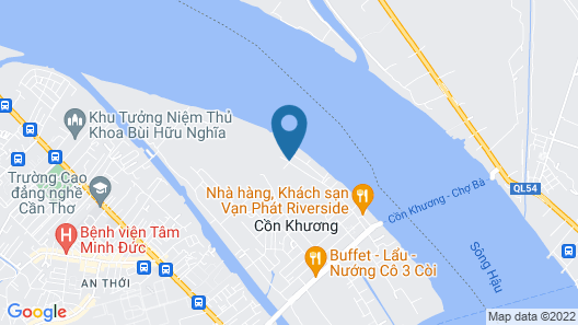 Con Khuong Resort Can Tho Map