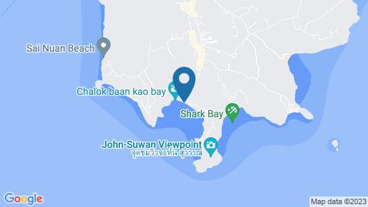 Carabao Dive Resort Map