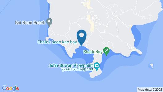 Assava Dive Resort Map