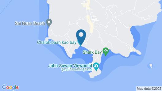 Fisherman Koh Tao Map