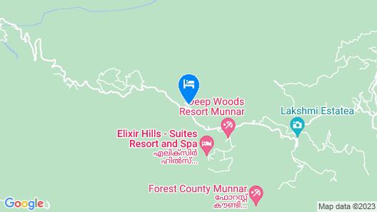 Seven Springs Resort Map