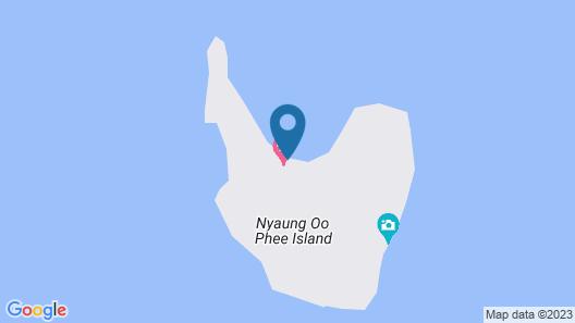 Victoria Cliff Nyaung Oo Phee Island Map
