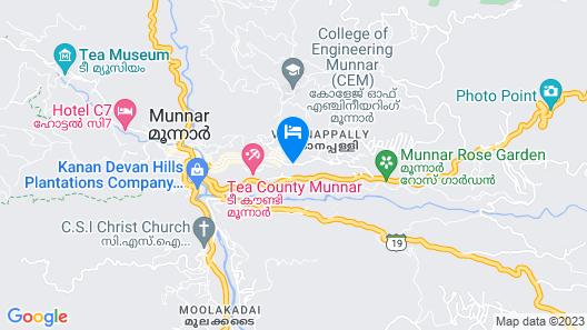 Treebo Trend Misty Garden Resorts & Spa Map