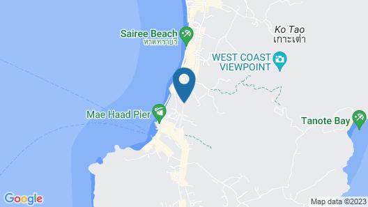 Koh Tao Beach Club Map