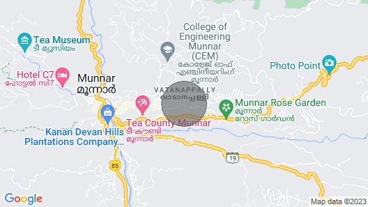 Homestay Munnar-mehakira Holiday Inn Map