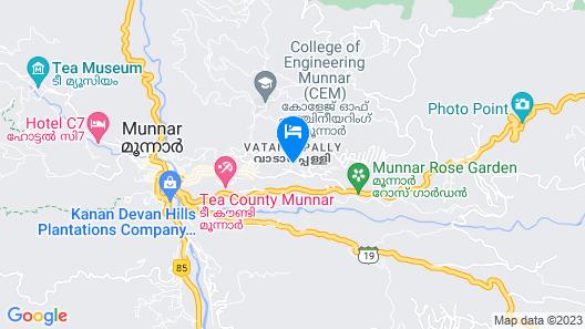 MehaKira Holiday Inn Map