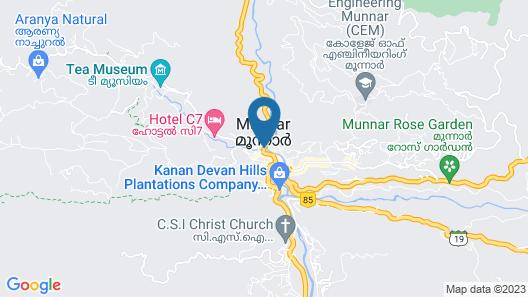 Spice Jungle Resort Map