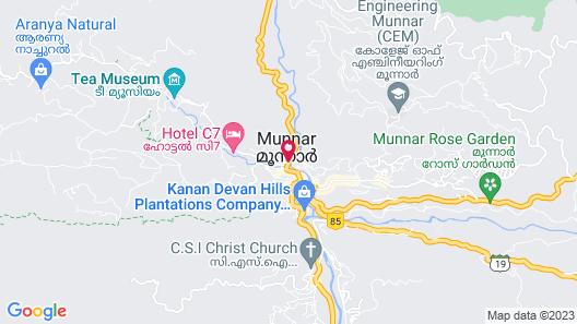 Nature Zone Jungle Resort Map