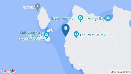 Dusit Buncha Resort Koh Tao Map