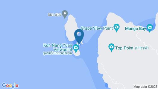 Nangyuan Island Dive Resort Map