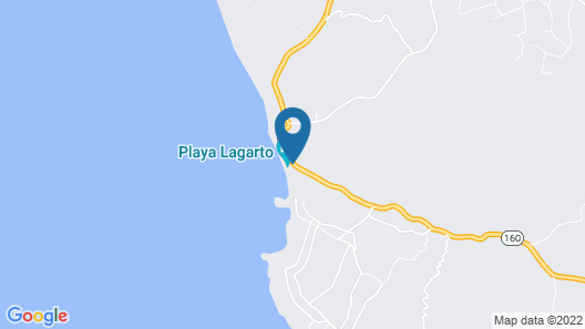 Playa Lagarto Eco Development Map
