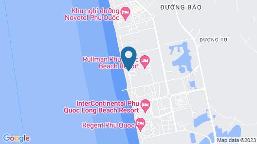Pullman Phu Quoc Beach Resort Map