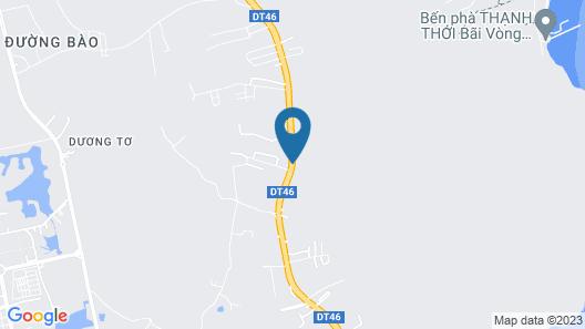 Anna Nguyen Resort Bungalow Map