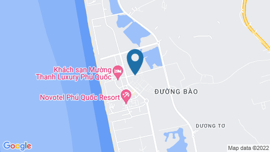 Coral Phu Quoc Hotel Map
