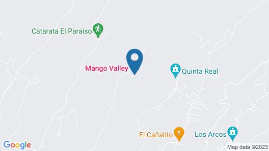 Hotel Mango Valley Map