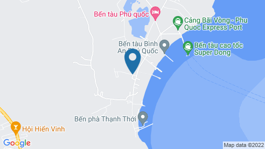 Bungalows Bai Vong Map