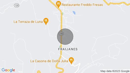 Inspire Lodge Costa Rica Map
