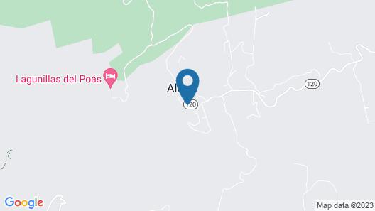 Poas Lodge Map
