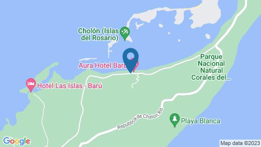 Aura Hotel Barú By Sport Barú Map
